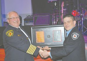 Willier named Firefighter-of-the-Year