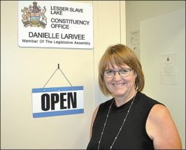 MLA welcomes new face to office