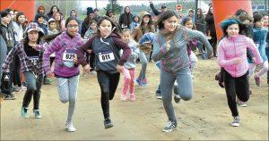 Peerless Lake runners top first run