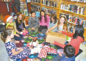 'Quiet' library fills with holiday cheer