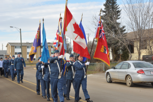 Remembrance Day in High Prairie