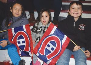 Canadiens' visit thrills hockey fans