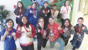 Joussard School – School retains handgames title