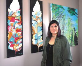 Self-taught artist making her mark