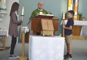Monseigneur Lavoie says farewell