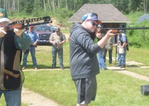 Plenty at 'steak' during gun shoot