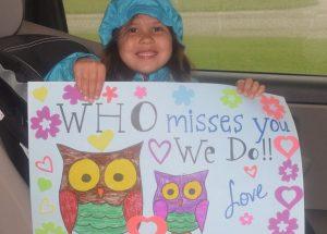 PICs – 'We miss you, students!'