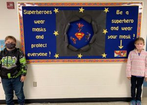 PIC – Superheroes come in all sizes!
