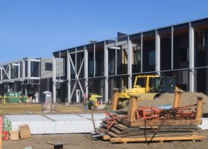 HP NLC campus nears completion