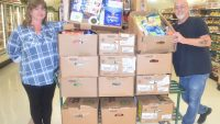 PIC – Business feeds food bank