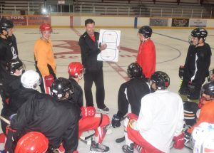 Red Wings open training camp