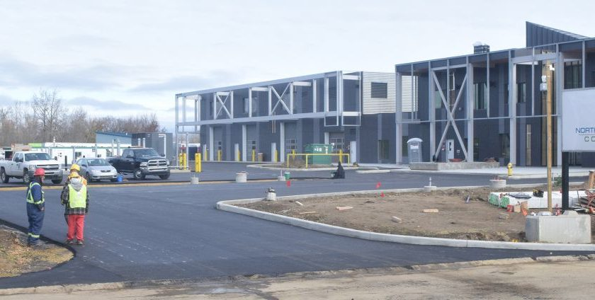 New college campus nears completion