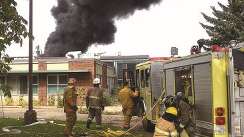Youth sentenced for role in hospital fire
