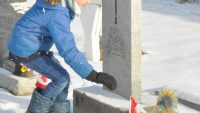 Identification of Veterans' graves completed