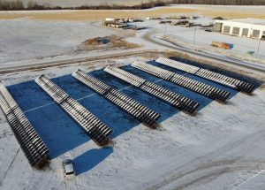 Big Lakes County is producing power
