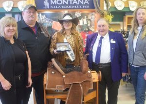 2019 HP Rodeo Queen gets prize buckle, saddle