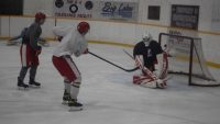 Red Wings back on ice
