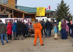 Rally held to end COVID restrictions