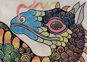 E.W. Pratt students create explosive art