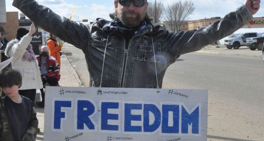 Citizens demand restoration of freedom