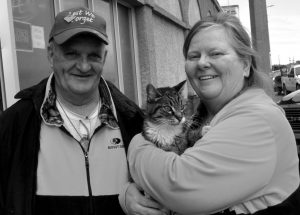Woman pleas for abandoned cats