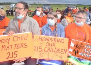 Vigil remembers lives lost in residential schools