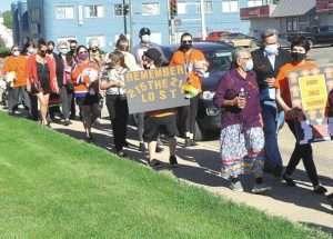 Walk remembers murdered children