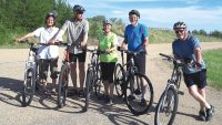 Senior cyclists tour High Prairie region