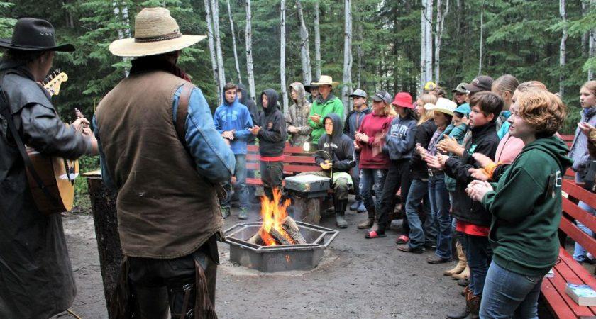 Wilderness camp returns