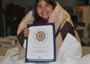HPE Grade 5 student wins Indigenous Student Award