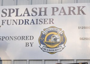 Firemen lead splash park fundraising