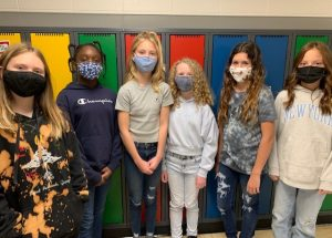Grade 5/6 class elects student government